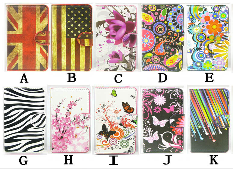 Phone Cases For lg L90 Fashion Jelly White Butterfly Sakura UK USA Flag Luxury Leather Mobile Phone Cases Case Cover