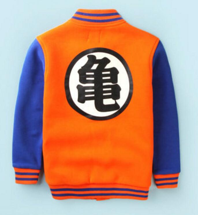 Dragon Ball Z Son Goku japon anime hoodie ceket kaban